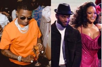 Fans Go Haywire As Popular American Artist Names A Wizkid Song As His Favourite Right Now (Photo)